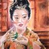 Geisha-Pastel