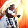 Bahian Man-Acrylic