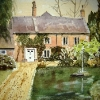 The- Old- Estate -House -Heytesbury-Watercolour