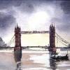 London-Bridge-Watercolour-12-x-16-inches