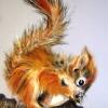 Red Squirrel-Oil Pastel
