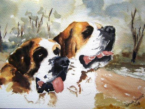 St Bernards-Watercolour
