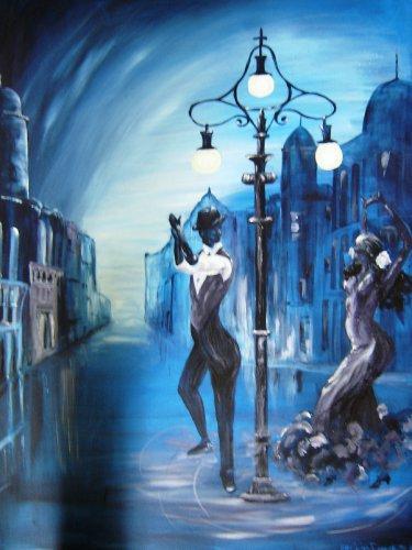 Tango in the Night-Acrylic