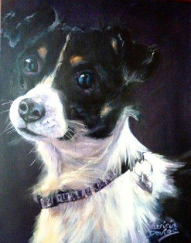 Buster|Oil|14x18inches
